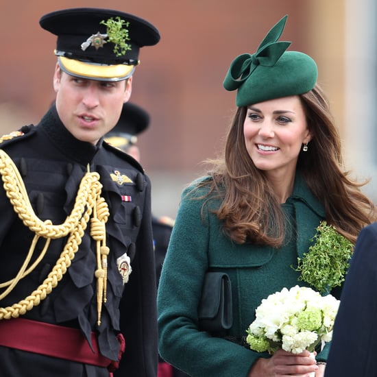 Kate Middleton and Prince William on 2014 St. Patrick's Day