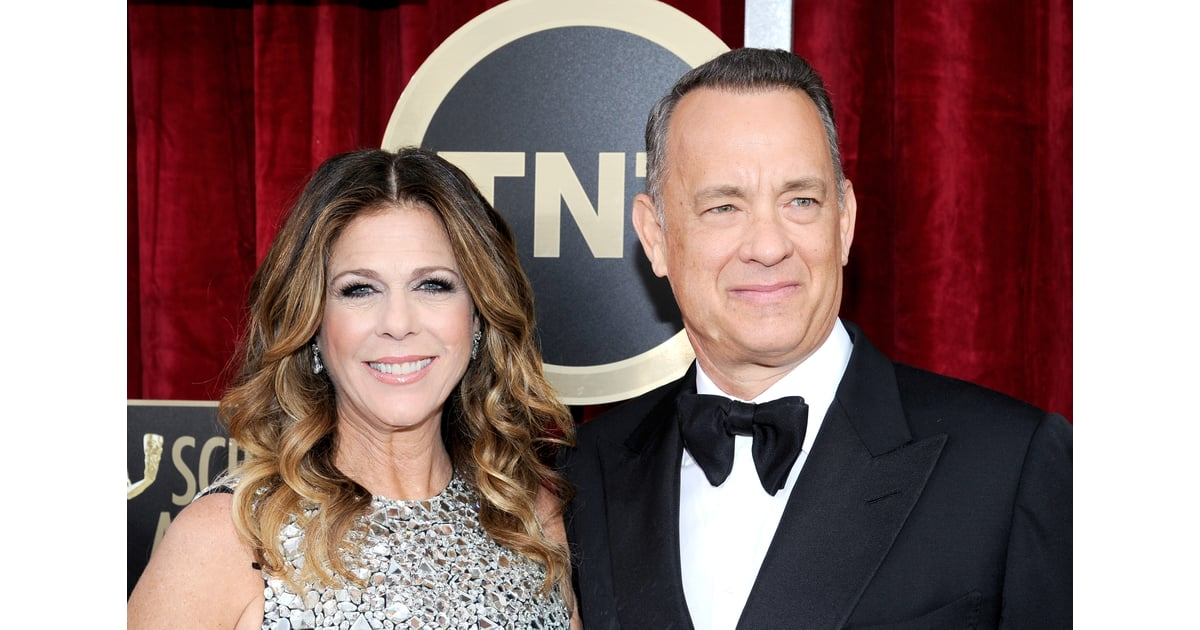 Tom Hanks and his wife, Rita Wilson, posed for pictures ...