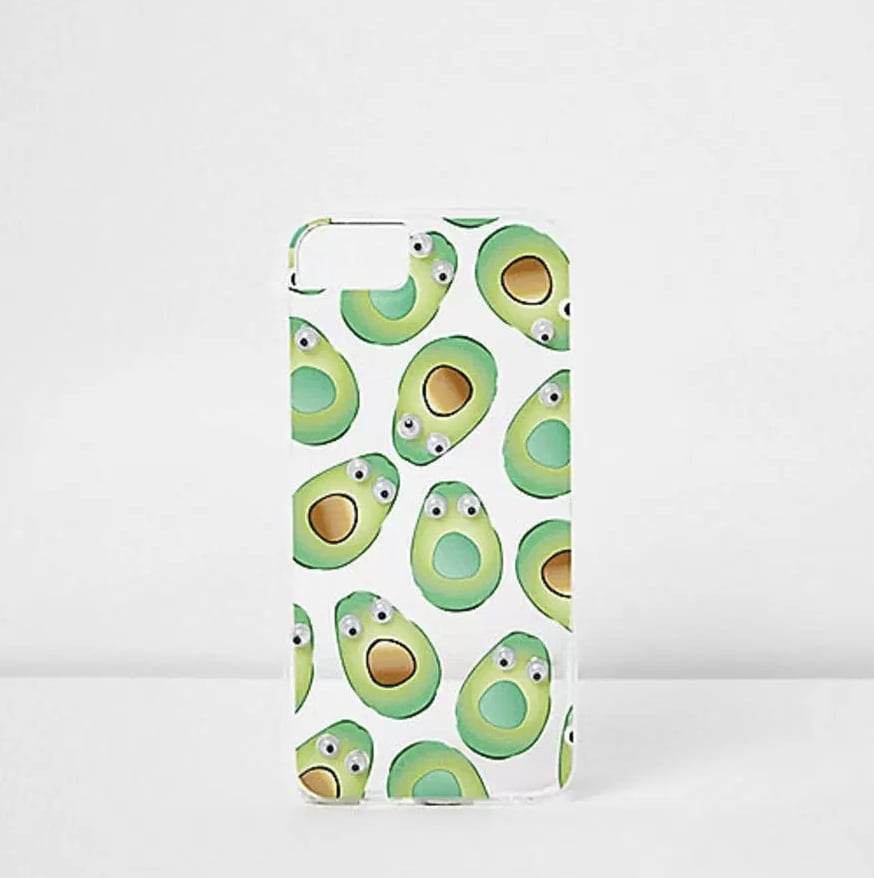 quality design ad8fc ee4b0 River Island Skinnydip Green Avocado iPhone 6/7 Case | Summer iPhone ...