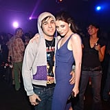 Michelle Trachtenberg and Pete Wentz