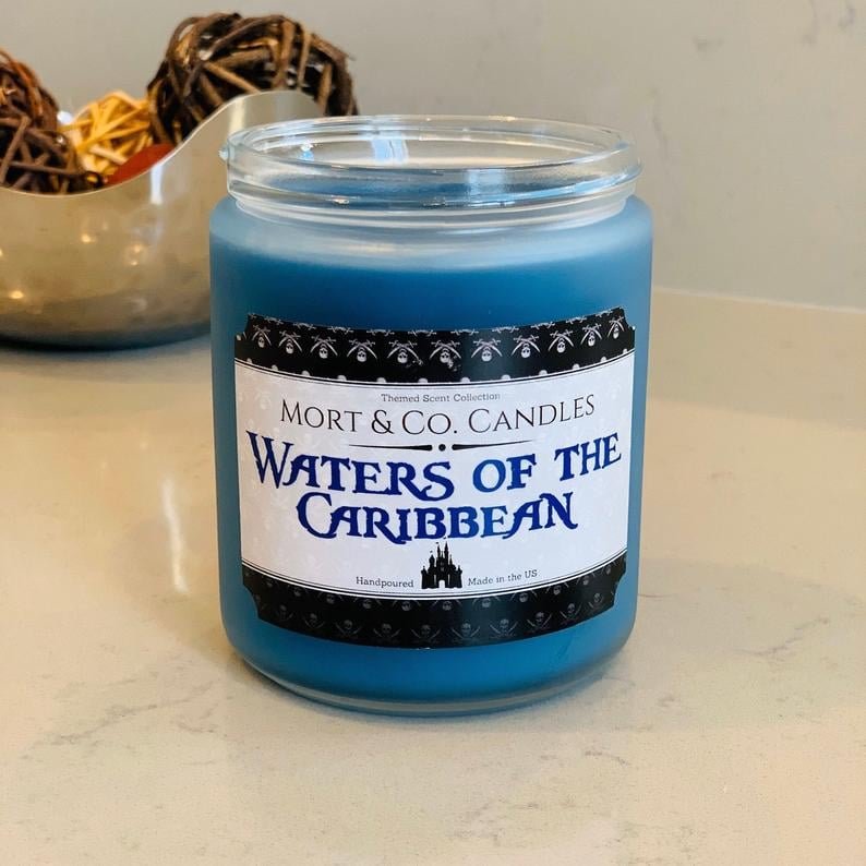 "Yo Ho, Yo Ho! This ""Waters of the Caribbean"" Candle Will Bring Back Disneyland Memories"