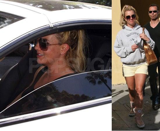 Britney Spears Rear Ends A Car