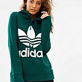 Adidas Originals Adicolor Trefoil Hoodie  ($100)