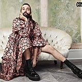 Jonathan Van Ness in the January 2020 Issue of Cosmopolitan UK