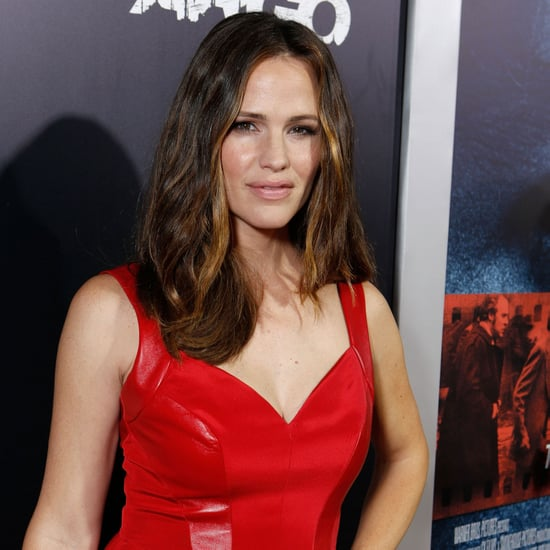 Ben Affleck And Jennifer Garner In Red Dress At Argo Premiere