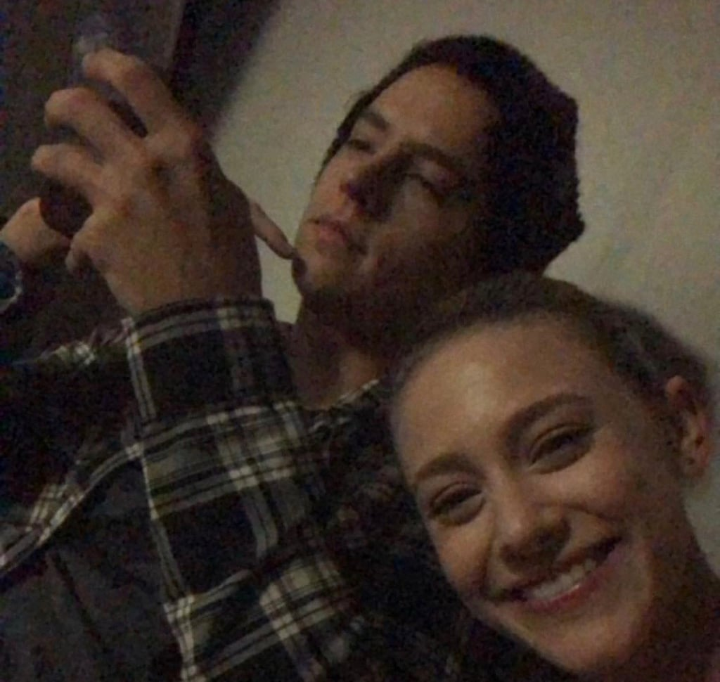 Lili Reinhart and Cole Sprouse Spend Lunar Eclipse Together