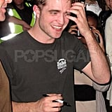 Robert Pattinson got a haircut for his role in Cosmopolis.