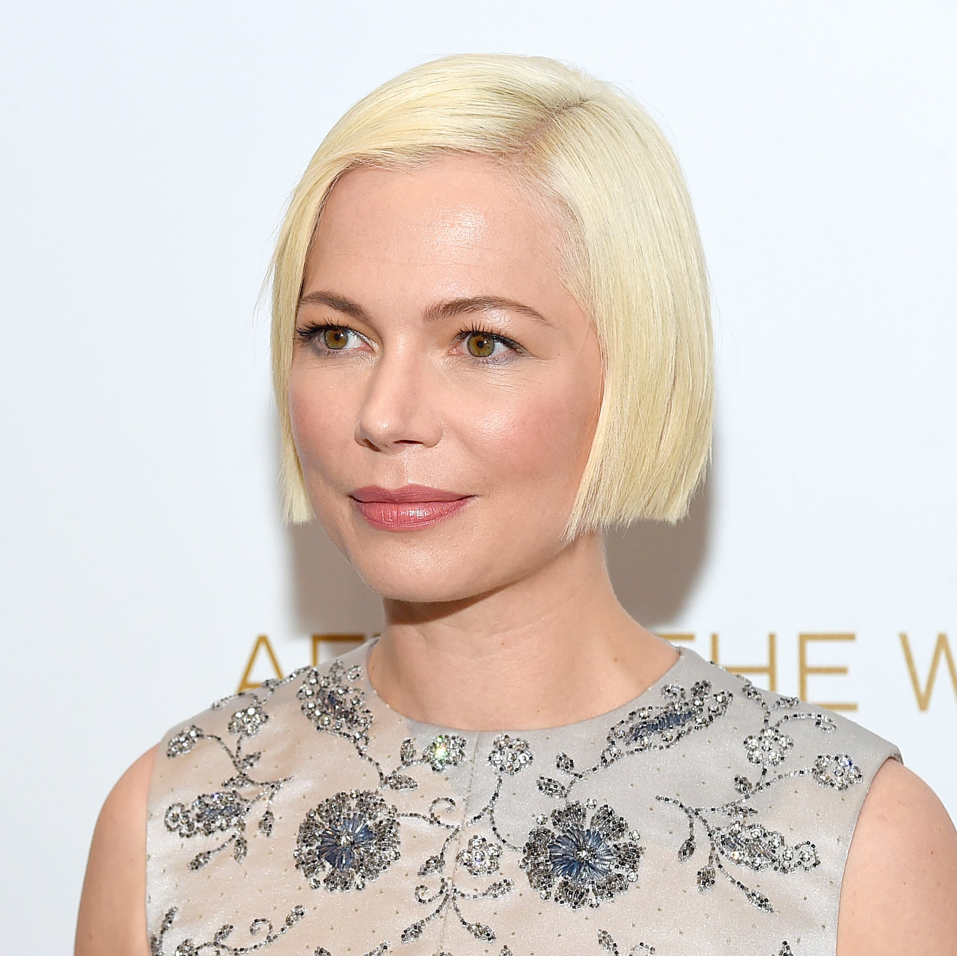 Michelle Williams's Sleek Bob Haircut | Celebrity Bob Haircuts for Autumn | POPSUGAR  Beauty UK Photo 13