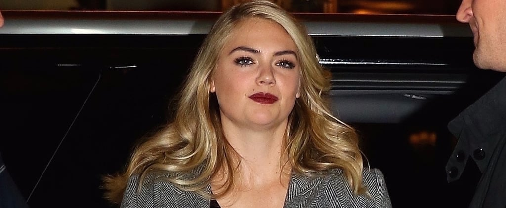 Find Us Someone Who's Not Surprised by the Simplicity of Kate Upton's Wedding Ring