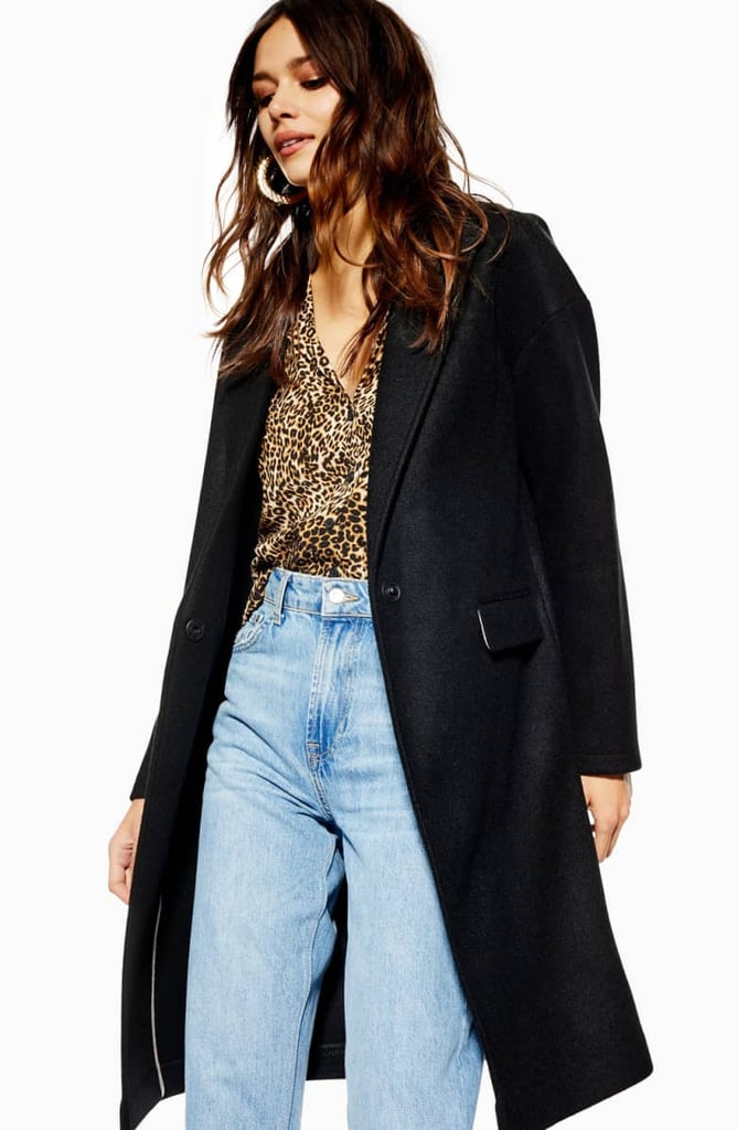 Topshop Lily Knit Back Midi Coat Last Minute Gifts From Nordstrom