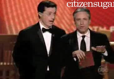 Political Speech at 2008 Emmy Awards Ceremony