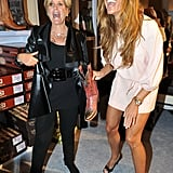 Kelly Bensimon and Suze Orman at charity event in NYC.