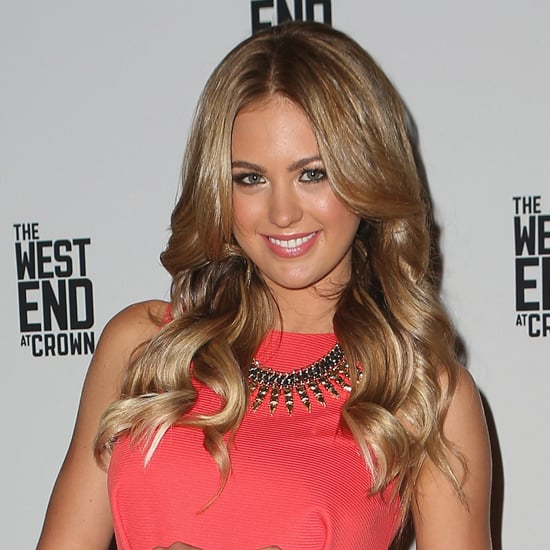 One of our favourite looks of Jesinta's — qunitessential Aussie beauty in September 2012.