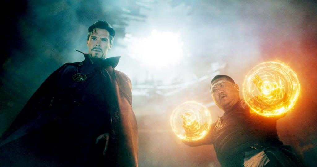 Doctor Stephen Strange and Wong