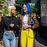 60+ Stop-and-Stare Beauty Street Style Looks From New York Fashion Week