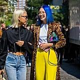 Beauty Street-Style New York Fashion Week Spring 2018