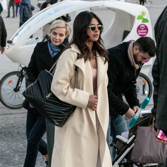 Priyanka Chopra's Saint Laurent Tote Bag November 2018
