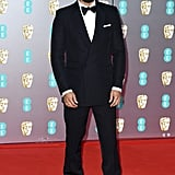 Anthony Welsh at the 2020 BAFTAs in London