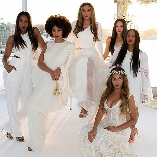 Beyonce at Mom Tina Knowles and Richard Lawson's Wedding
