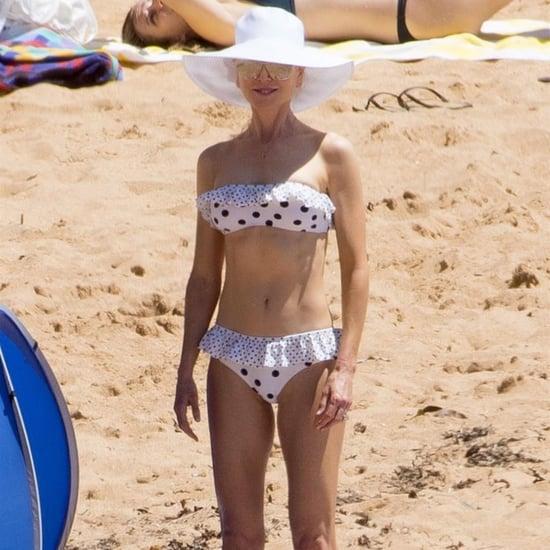 Nicole Kidman Polka Dot Bikini With Keith Urban 2018