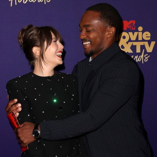 Anthony Mackie Elizabeth Olsen MTV Movie and TV Awards 2021