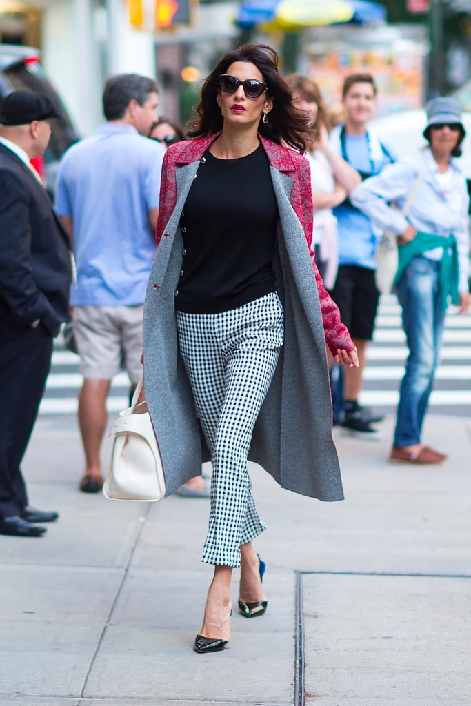 Amal Clooney Favorite Brands at Fashion Week Spring 2018