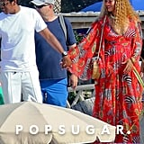 Beyoncé Zebra Dress by Dolce and Gabbana in Cannes 2018