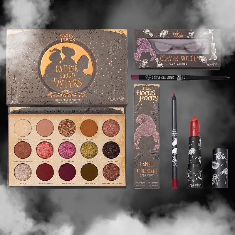 Colourpop x Hocus Pocus Mary Sanderson Makeup Set
