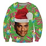 Carlton Ugly Christmas Sweater