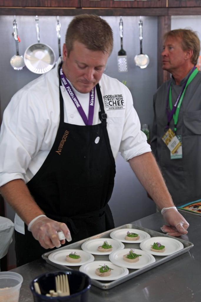 Best New Chef Justin Cogley