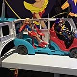 DC Super Hero Girls Transforming Bus