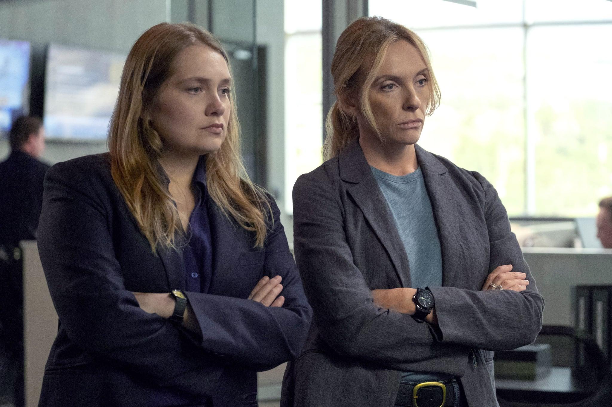 UNBELIEVABLE, from left: Merritt Weaver, Toni Collette, (Season 1, ep. 105, aired Sept. 13, 2019). photo: Beth Dubber / Netflix / Courtesy Everett Collection