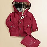 Burberry Infant's Packaway Raincoat ($195)