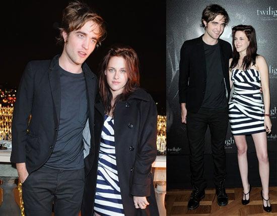Photos of Robert Pattinson and Kirsten Stewart in Paris For Twilight Photo Call