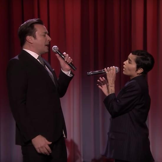 "Zoë Kravitz and Jimmy Fallon Sing ""Up Where We Belong"" Video"