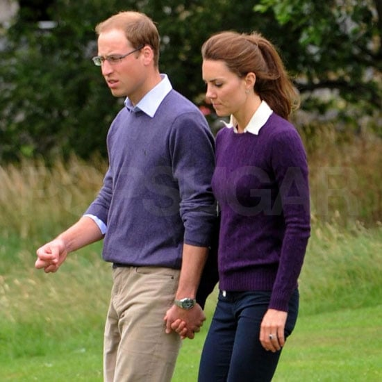 Prince William and Kate Middleton in Matching Outfits Pictures