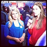 We caught up with Miss America Mallory Hagan at the National Day of Service.