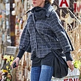 Cameron Diaz took a walk around the West Village while trying to hail a cab, wearing a gray jacket and sunglasses.