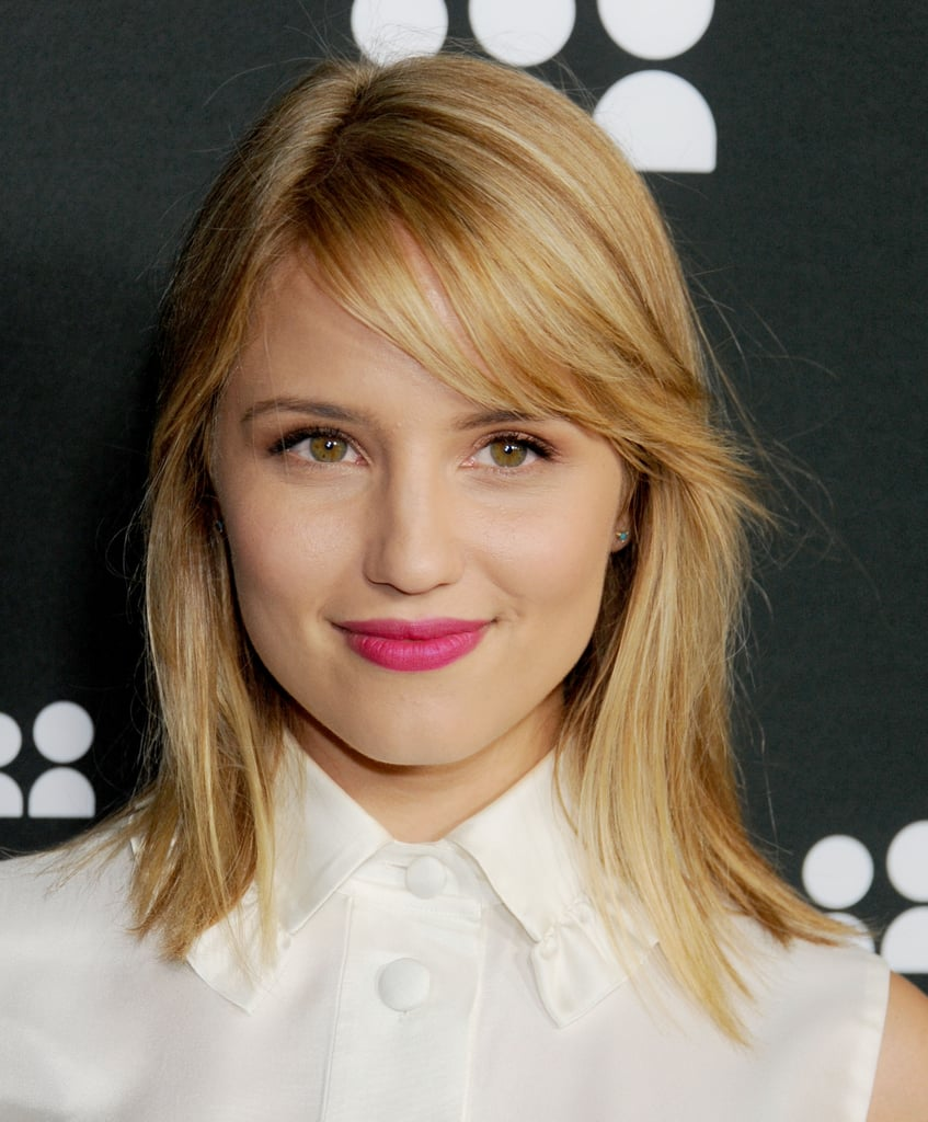 Dianna Agron Celebrities With The Clavicut Hairstyle Popsugar
