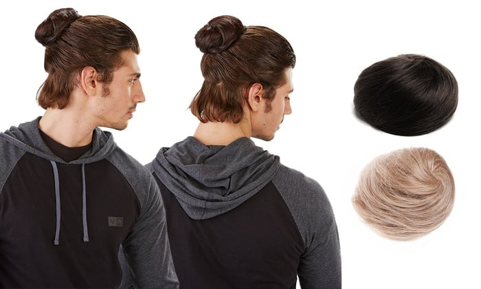 Clip-On Man Buns