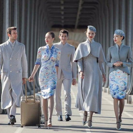 الزي الرسمي لطاقم خطوط هاينان الجوية