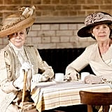 """Your quarrel is with my daughter, Rosamund, and not with me. So put that in your pipe and smoke it."" Photo courtesy PBS"