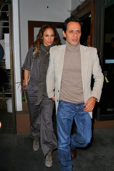 Jennifer Lopez and Marc Anthony out and about