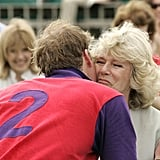 A moment many believed would never happen . . . After years of emotional turmoil Camilla was welcomed to the family, and is now much appreciated by her step-sons William and Harry.