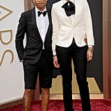 Most Interesting Interpretation of Black Tie: Pharrell Williams