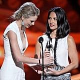 Taylor Swift and Olivia Munn