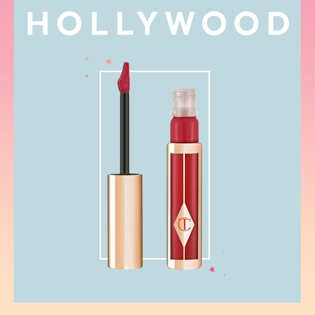 "Few things are more Hollywood-glam as a perfect shade of red lipstick and with a name like ""Hollywood Lips"" it's no surprise celebrity makeup artist Charlotte Tilbury makes the best of the best. Tilbury's Hollywood Lips Lipstick ($34) comes in 10 shades and has anti-aging ingredients, ensuring your lips won't dry out, even in the coldest weather."