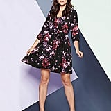 Simply Be Blurred Floral Smock Dress (£21)