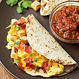 Breakfast Tacos With Fire-Roasted Tomato Salsa