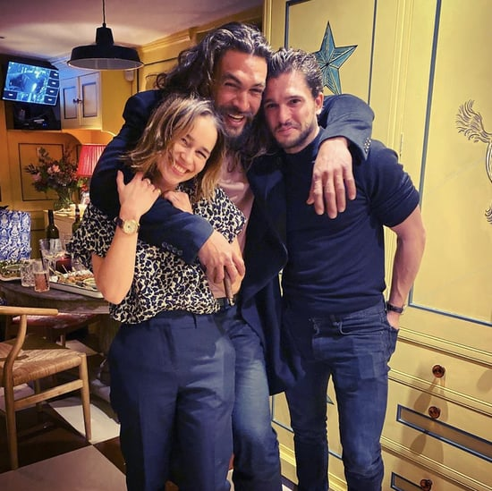 Emilia Clarke, Jason Momoa, and Kit Harington Reunion Photo